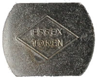 Essex manufacture tokens